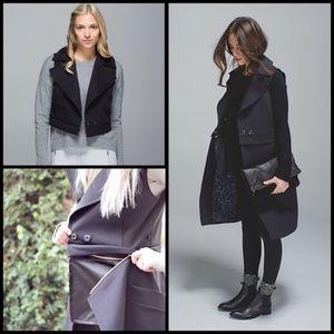 NWT Lululemon QuickChange Vest in Black